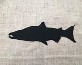 Salmon Harris Tweed Cushi...