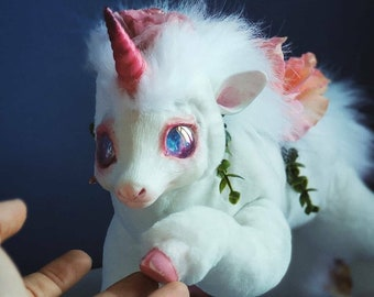 Forest unicorn poseable art toy
