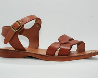 6f19b20a70bfb0 Leather sandal women
