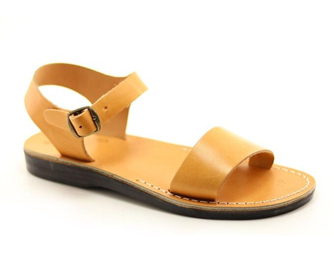 Men Gladiator Sandals, Man Sandal Leather Greek sandals, Brown Leather Sandals.