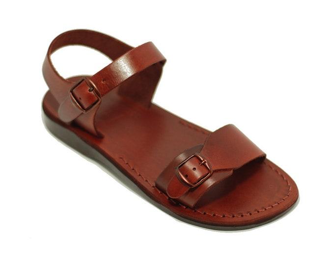 Man leather sandals Jesus sandals - Model 1 men