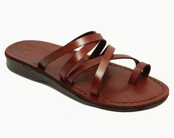 Women slippers toe ring sandals - Model 27