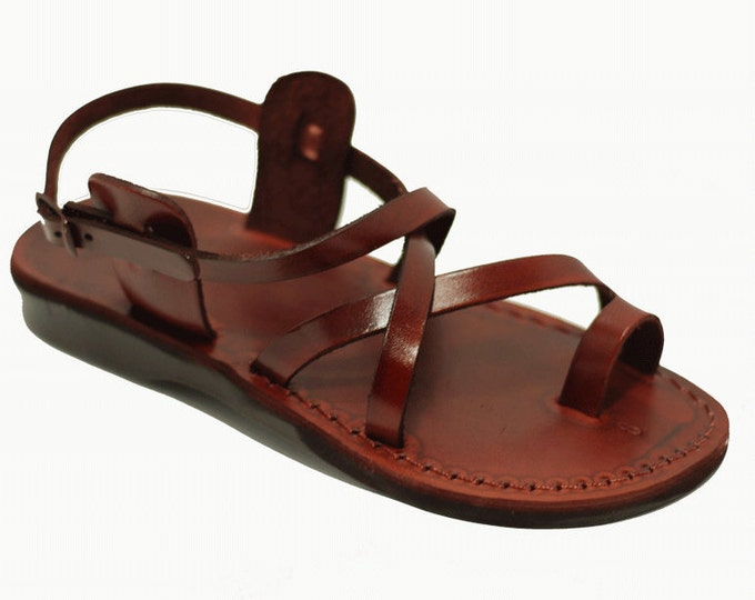 Brown Men leather sandals - Model 6