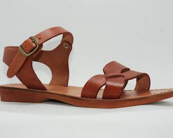 7d673fdcfd00 Jesus sandals greek sandals