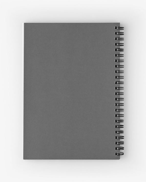 Handmade Artists Sketch Pad  with Gothic Haunted Image,100gsm Cartridge Paper