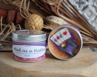 Mad as a Hatter Soy Candle