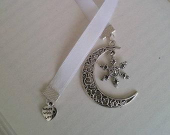 Ribbon Bookmark ' The Lunar Chronicles ' – Winter