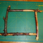 """Custom picture frame, 11"""" x 14"""""""
