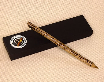 Pen Made From a Beaver-Chewed Stick