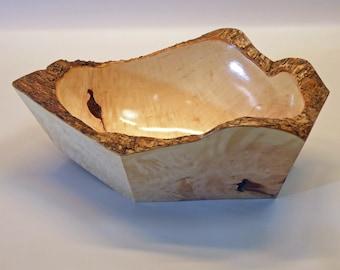 Natural  Edge Root Wood Bowl