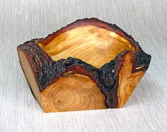 Natural Edge Fir Root Wood Bowl