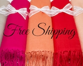 Any Solid Color Pashmina, Scarf