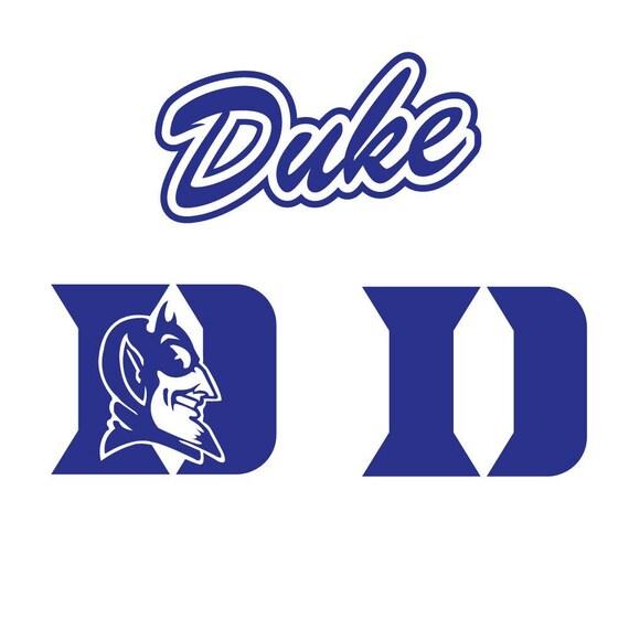 Duke Blue Devils Svg Dxf Eps Png College Svg Files Etsy