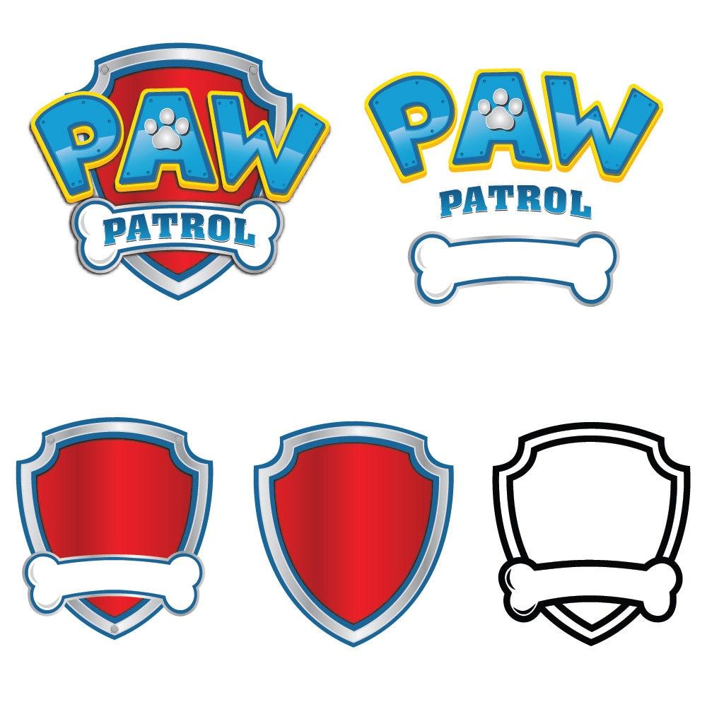 Paw Patrol Svg Paw Patrol Logo Clip Art In Digital Format