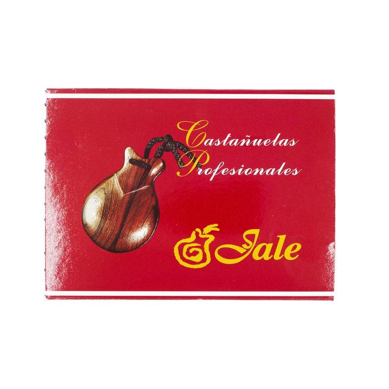 Flamenco Castanets Jale Amateur Black Fiber Spanish Castanets Casta\u00f1uelas Jale de fibra Size 6 Woman Adult