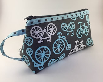 Cosmetic Bag, Toiletry Bag, Zippered Pouch
