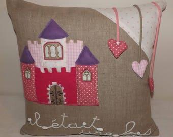 """Pillow child """"Princess Castle"""""""