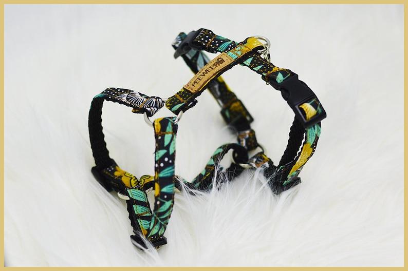 Adjustable dog harness \u203b NAGOYA  Dog gift  Small dog harness  Large dog harness