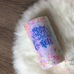 Throw Kindness Around Like Confetti - Kid Tumbler - Confetti Cup - Glitter Tumbler - Gift for Kids