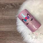 Unicorn Tumbler - Kid Tumbler - Unicorn Cup - Glitter Tumbler - Gift for Kids