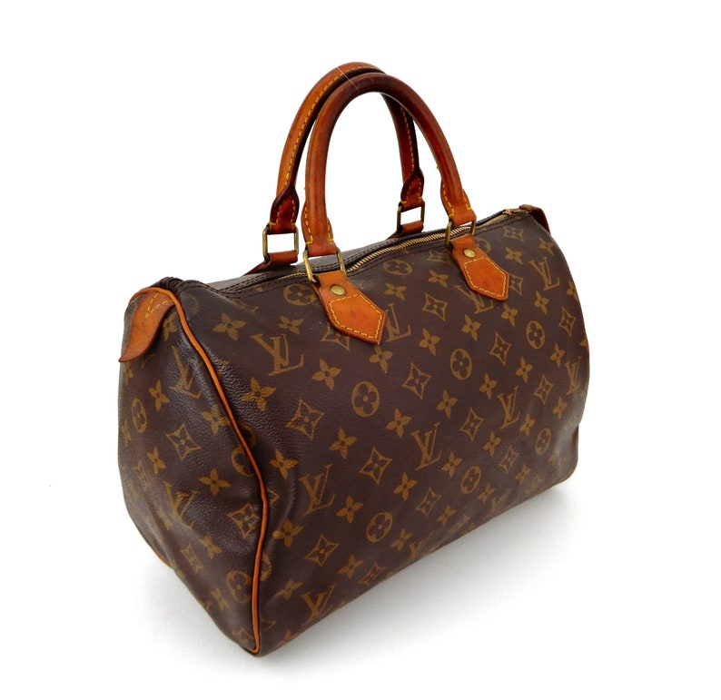 7b748c3b420c Authentic Vintage Louis Vuitton Speedy 30 Monogram Canvas
