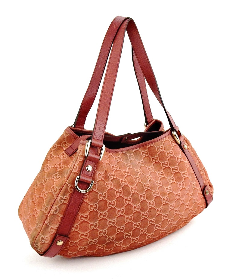 50b3f7c8851 Authentic Vintage Gucci Jackie Hobo Web Gg Monogram Canvas