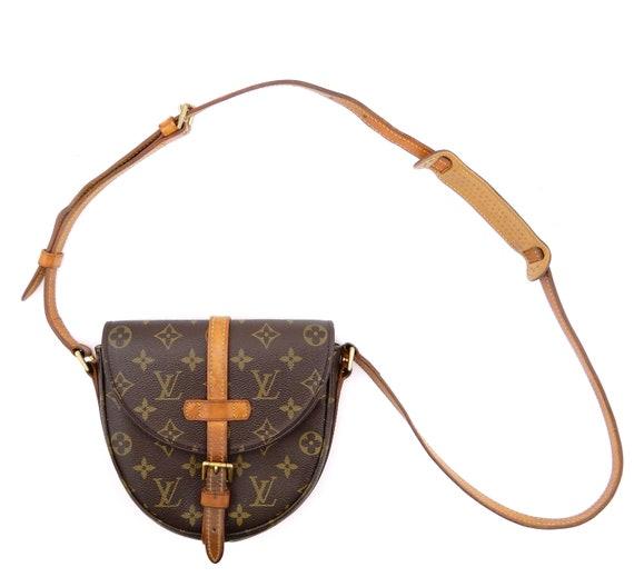 c7e73880d Authentic Vintage Louis Vuitton Brown Monogram Canvas Leather | Etsy
