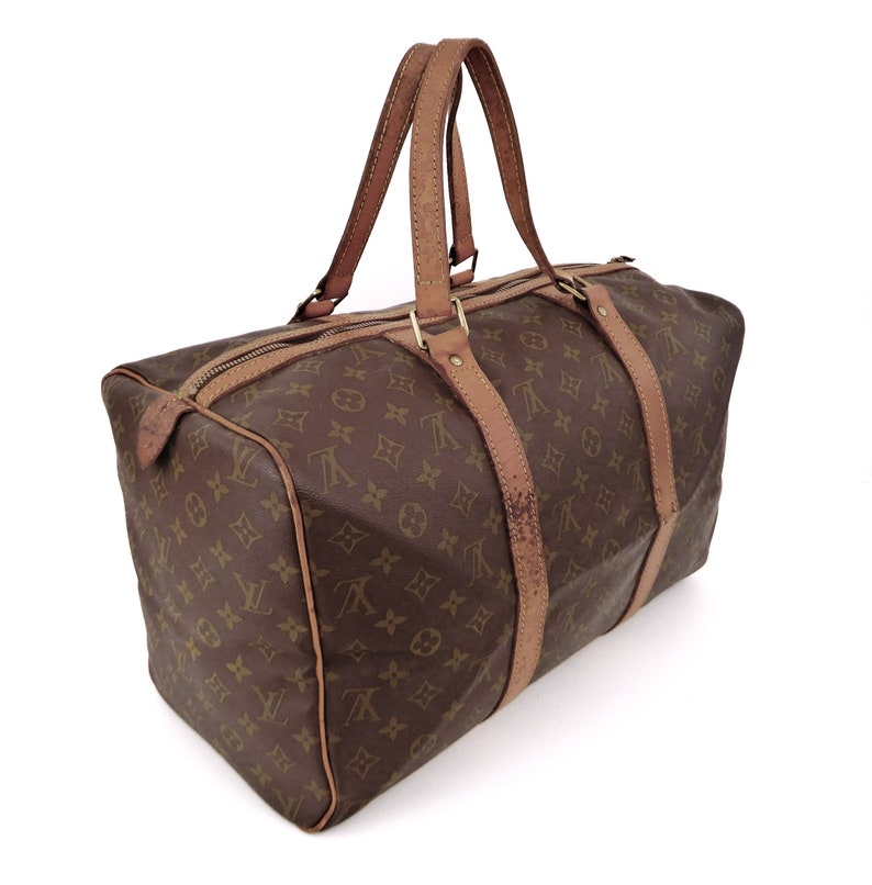 Authentic Rare Vintage Louis Vuitton Brown Monogram Canvas  95e1e580a4e70