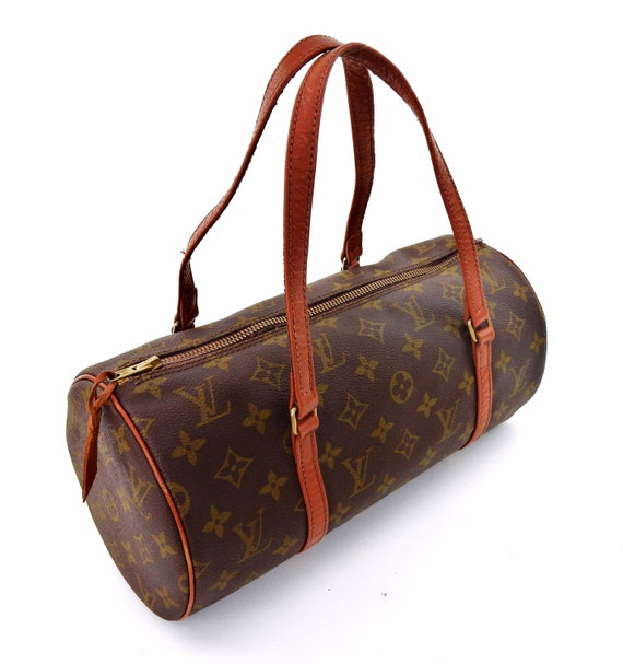 Rare Authentic Louis Vuitton Vintage Papillon 30 Monogram  98d0a910d527d