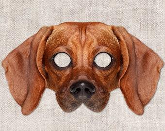 photo relating to Printable Dog Masks named Printable pet dog mask Etsy