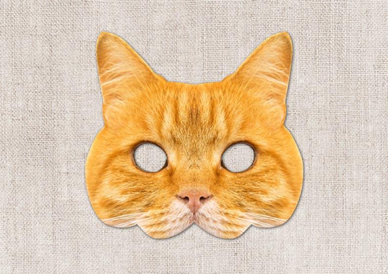 photo relating to Cat Mask Printable identify Ginger Cat Printable Mask, Cat, Picture-True Cat Mask, Printable Halloween Mask, Printable, Cat Dress, Printable Animal Mask, 2 Dimensions Orange