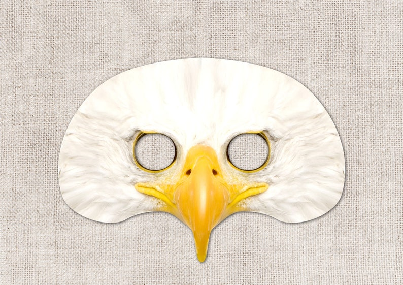 image relating to Eagle Printable identify Bald Eagle Printable Mask, Picture-True Bald Eagle Mask, Printable Halloween Mask, Printable Mask, Eagle Dress, Animal Mask, 2 Measurements
