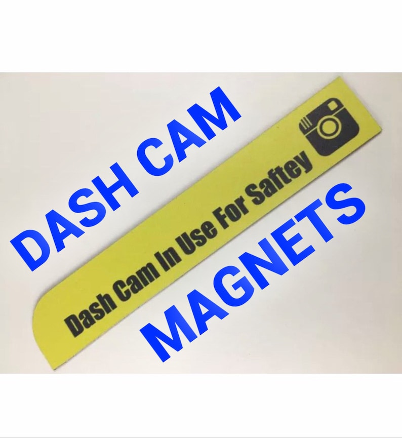 Dash Cam Magnets - (2 Pack) Uber Lyft Riideshare Must Have - FREE SHIPPING!