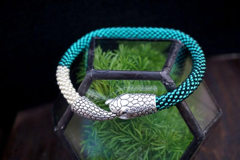 ouroboros bracelet snake bracelet  snake jewelry