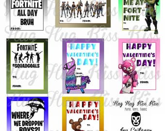 Fortnite Valentine Etsy