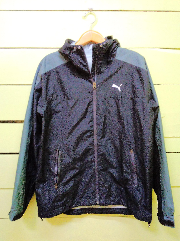 dcb40738427aa Vintage 90's Puma Hoodie Sweater Jacket Full Zipper Sportswear Hiphop Jaspo