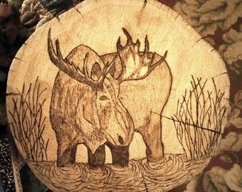 Pyrography (wood burning)