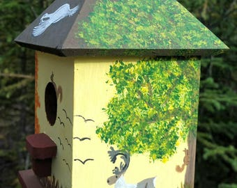 Alaskan Autumn Birdhouse