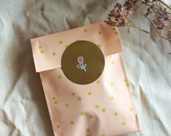 small grab bag, washi & stationery surprise mystery lucky dip bag, stickers, paper lover combo pack