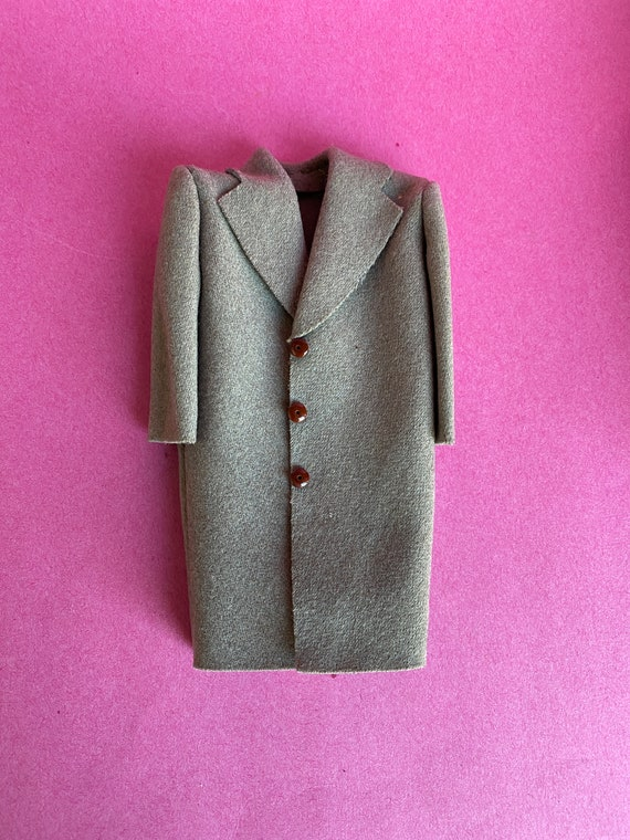 Salesman Sample Gray Wool Overcoat, Original Box,