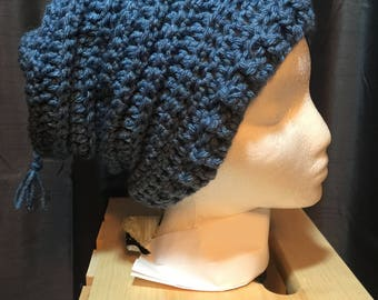 Women's Slouch Hat Denim Blue