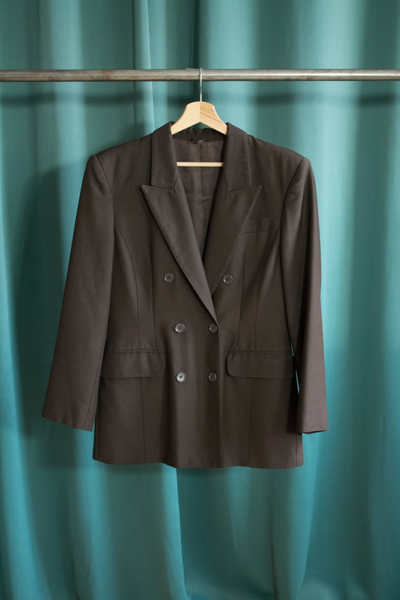 Daniel Hechter vintage blazer / Workwear style bla