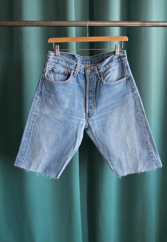 Levi's 501 vintage denim shorts made in USA / Vint