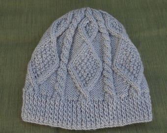 32d570fb1f4 Irish knit hat - free USPS priority mail shipping