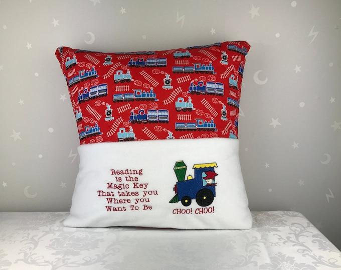 Reading Pillow / Book Cushion