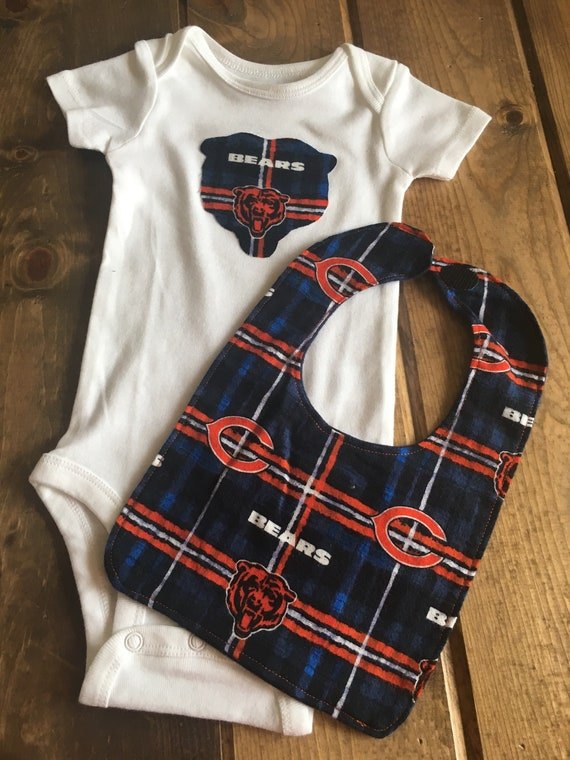 huge selection of ee757 05e0d Baby 3-6 Month Chicago Bears Clothing Set