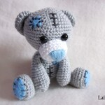e-book Amigurumi crochet guide Teddy Bear Kasimir