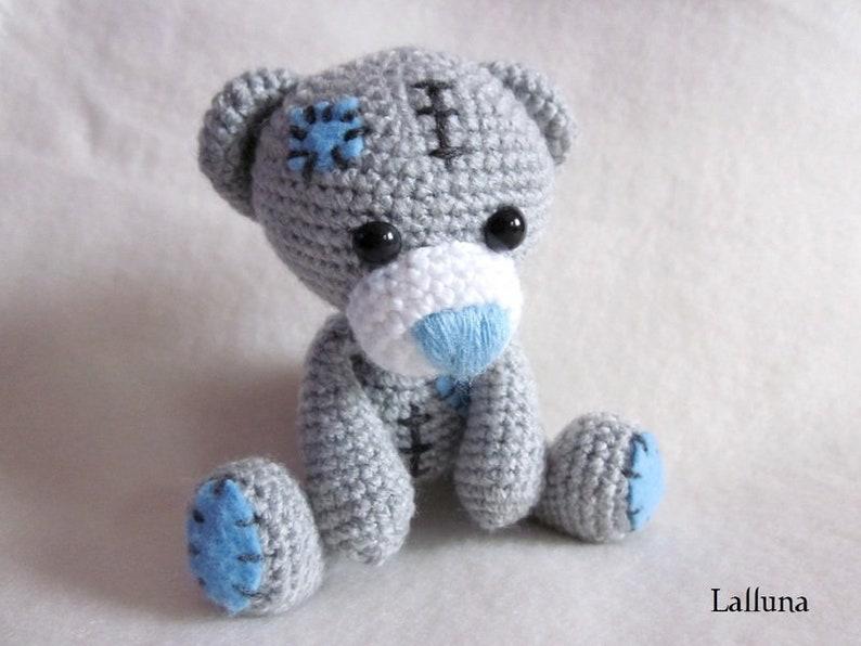 e-book Amigurumi crochet guide Teddy Bear Kasimir image 0