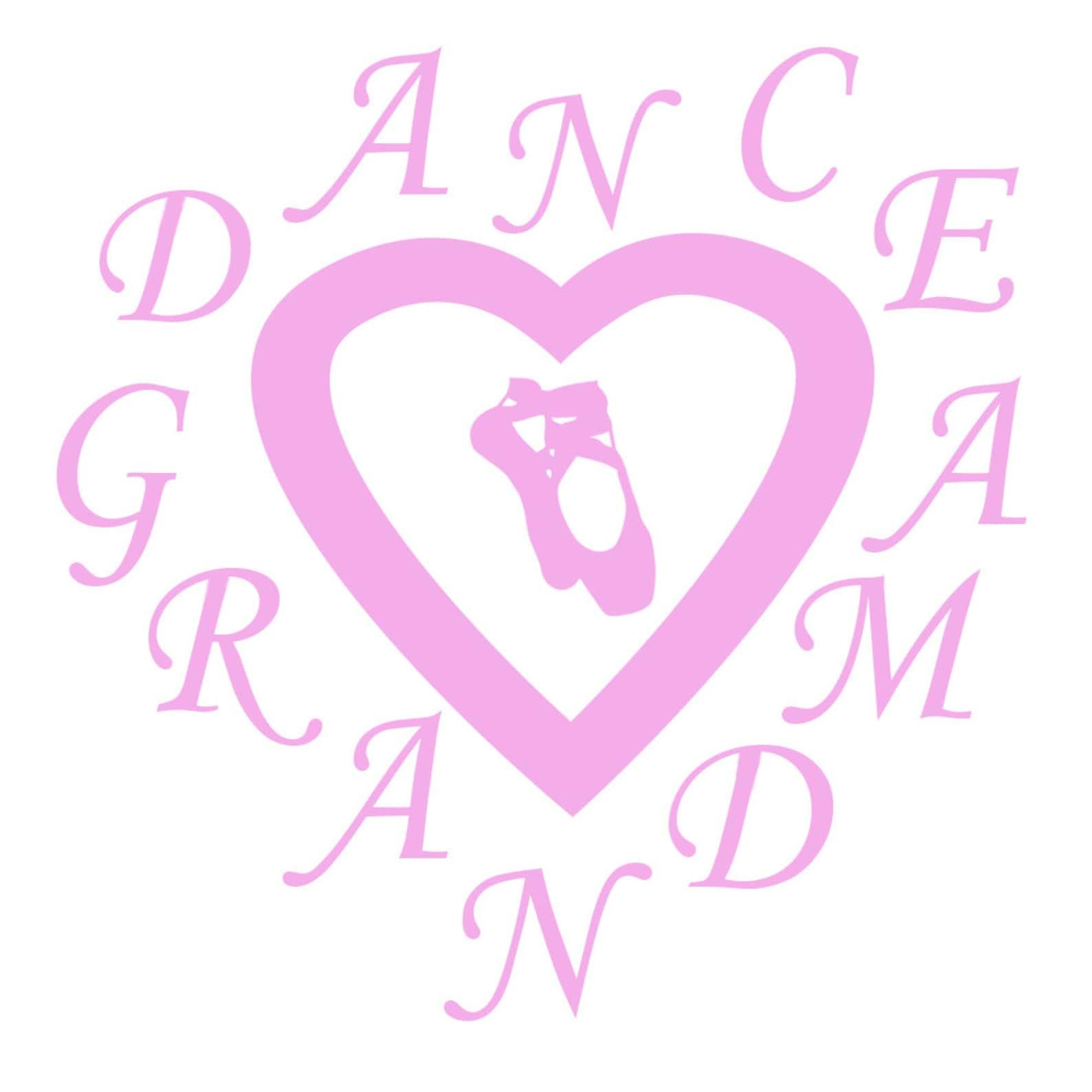 dance stickers, ballet stickers, dance mom svg,ballet svg, dance grandma, heart and dance shoes, ballet mom, ballet grandma, bal