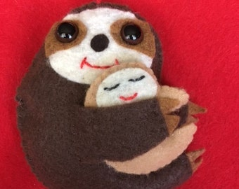 Mother's Day - Mom and baby sloth